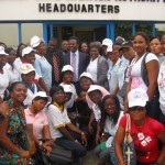 cross section of members at NCAA HQs during the Awareness programme